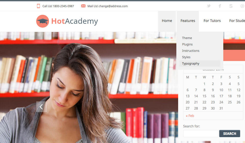 Educational WordPress Themes for Schools and Universities