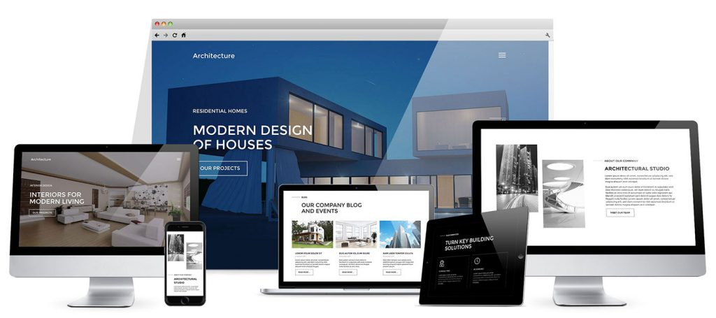 Responsive Architecture WordPress theme