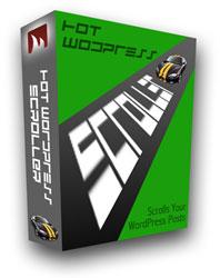 wordpress scroller