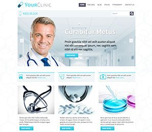 Clinic WordPress theme