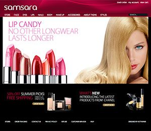 Cosmetic WordPress theme