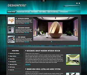 design blog theme