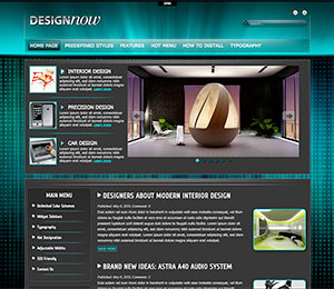 design blog theme