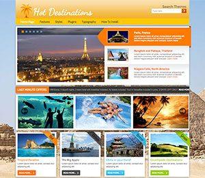 WordPress Tourism theme