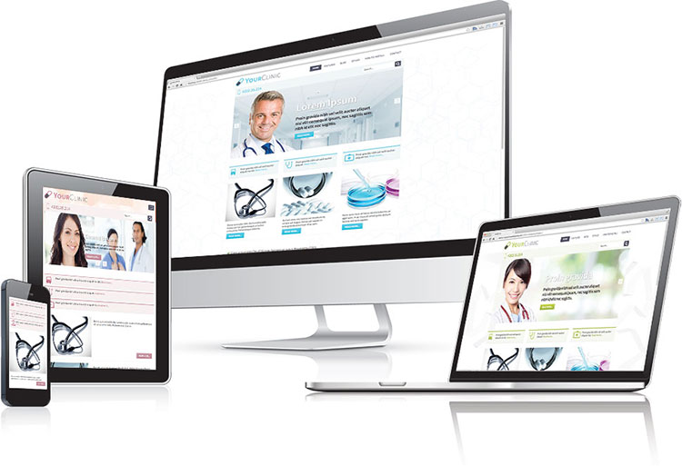 Responsive clinic WordPress theme