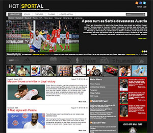 sports wordpress theme