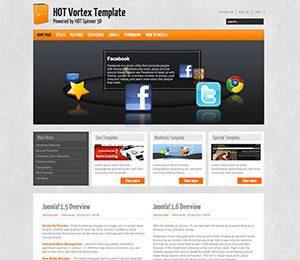 Wordpress Software Theme - Vortex