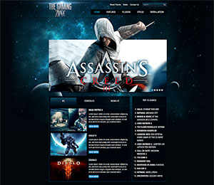 wordpress gaming theme