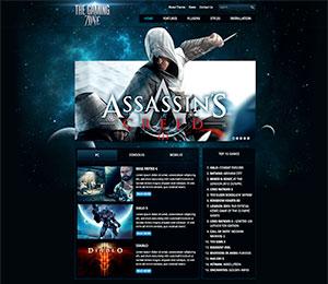 wordpress gaming theme