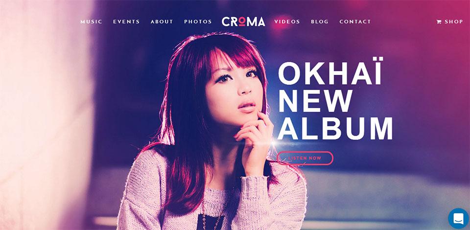 croma wordpress music theme