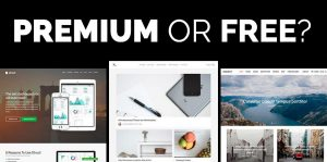 Premium or Free WordPress theme?