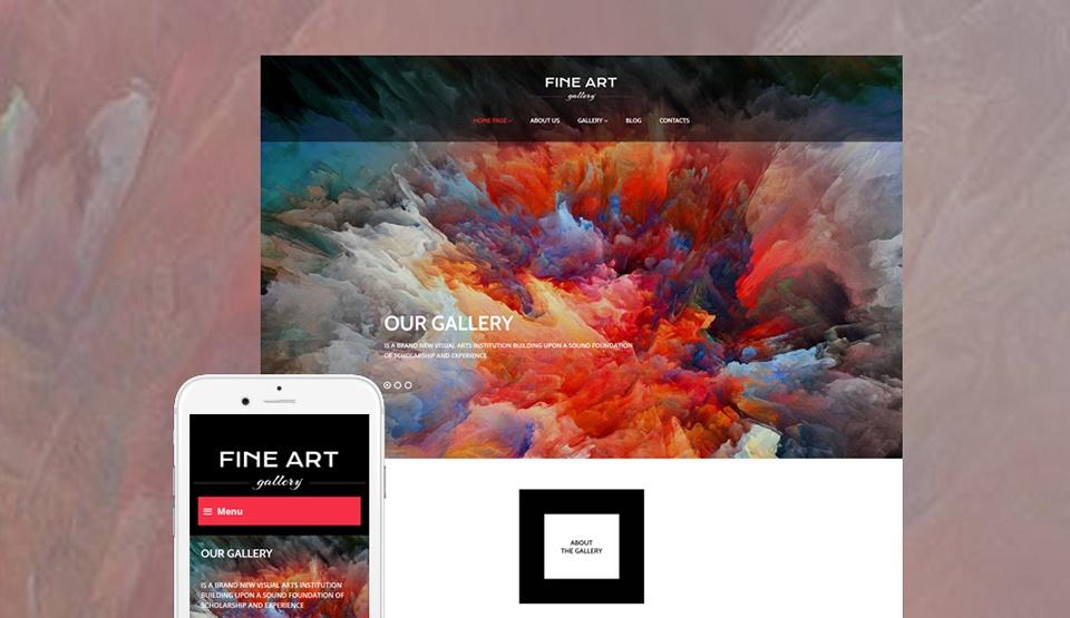 Art Gallery Responsive WordPress Theme