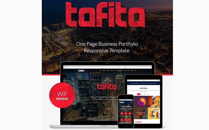 Tofito - Business Theme WordPress Theme