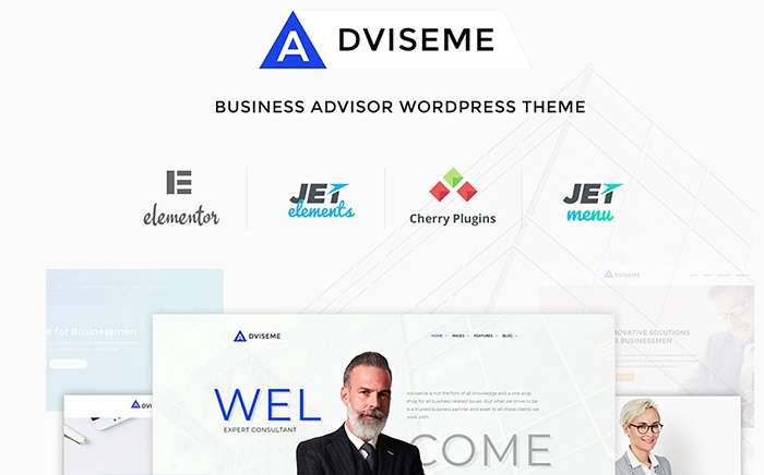 Adviseme - Business Advisor WordPress Theme