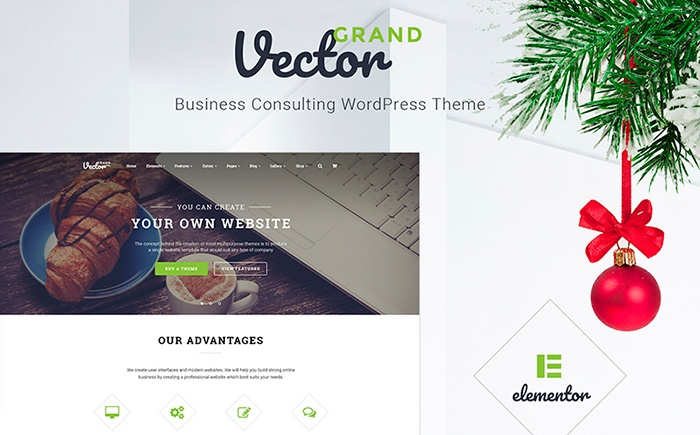 Grand Vector - Business Consulting WordPress Theme