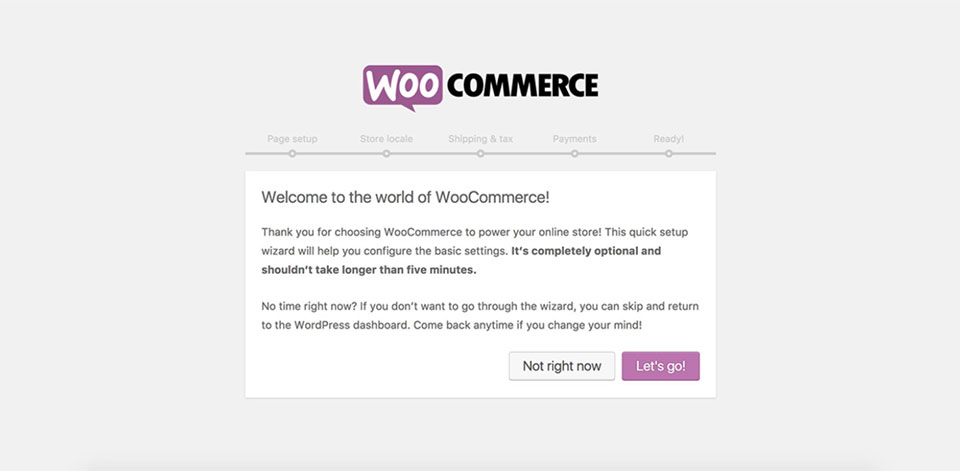 Golf theme installation - WooCommerce