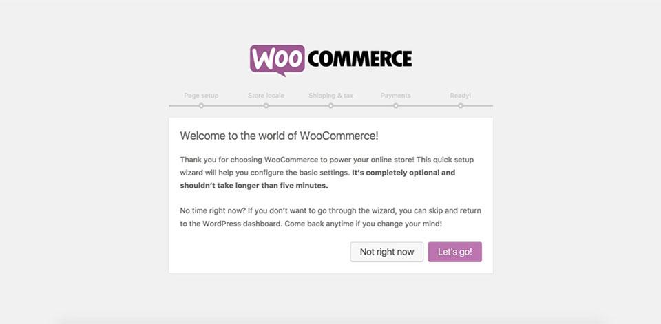 Golf theme installation - WooCommerce