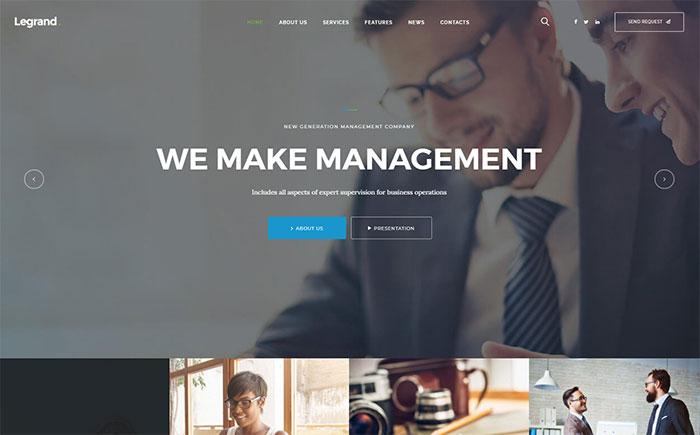 LeGrand | Multi-Purpose Business Theme