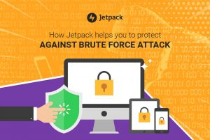 Jetpack against brute force attack