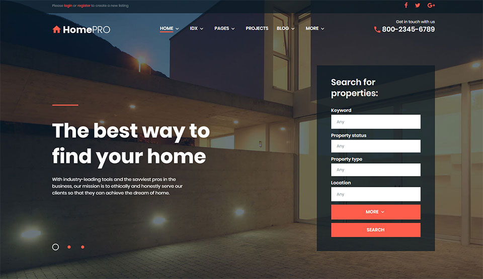 Real Estate Wp Templates Hotthemes