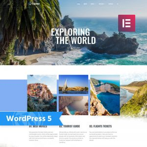 Travel blog WordPress themes