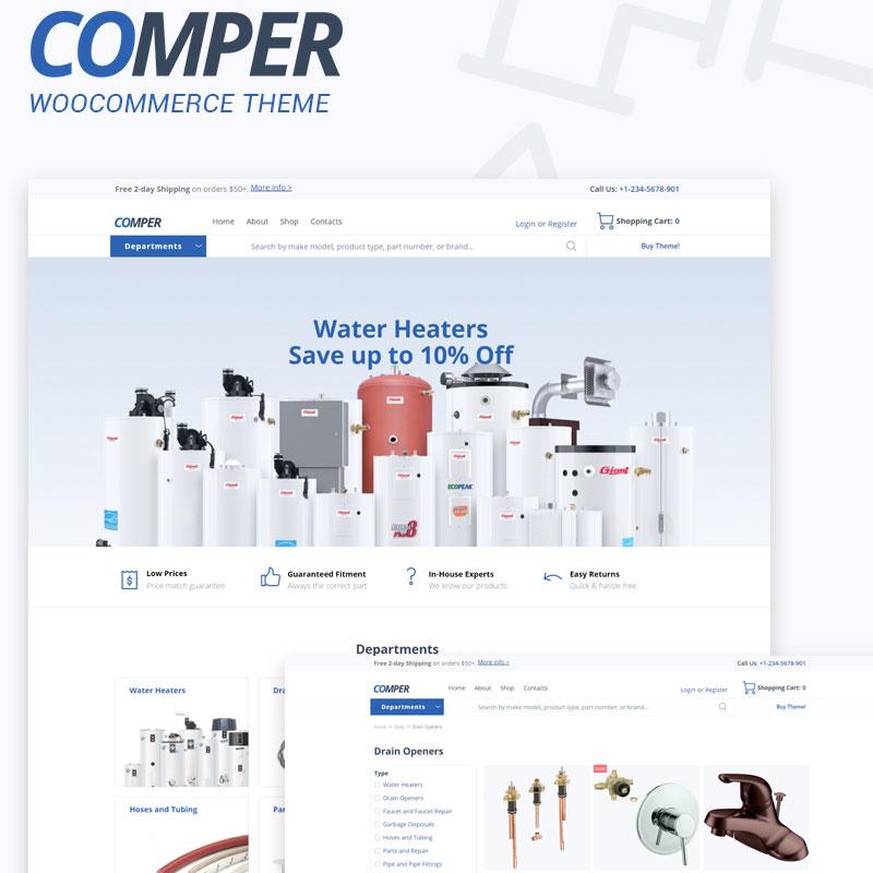 Comper WooCommerce Theme