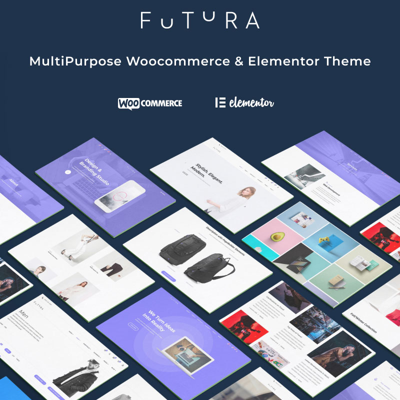 Futura WooCommerce Elementor Theme