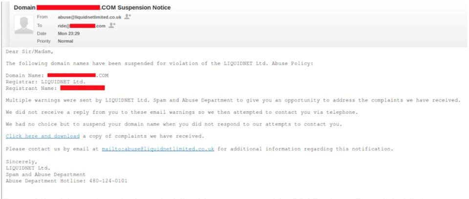 Domain Phishing